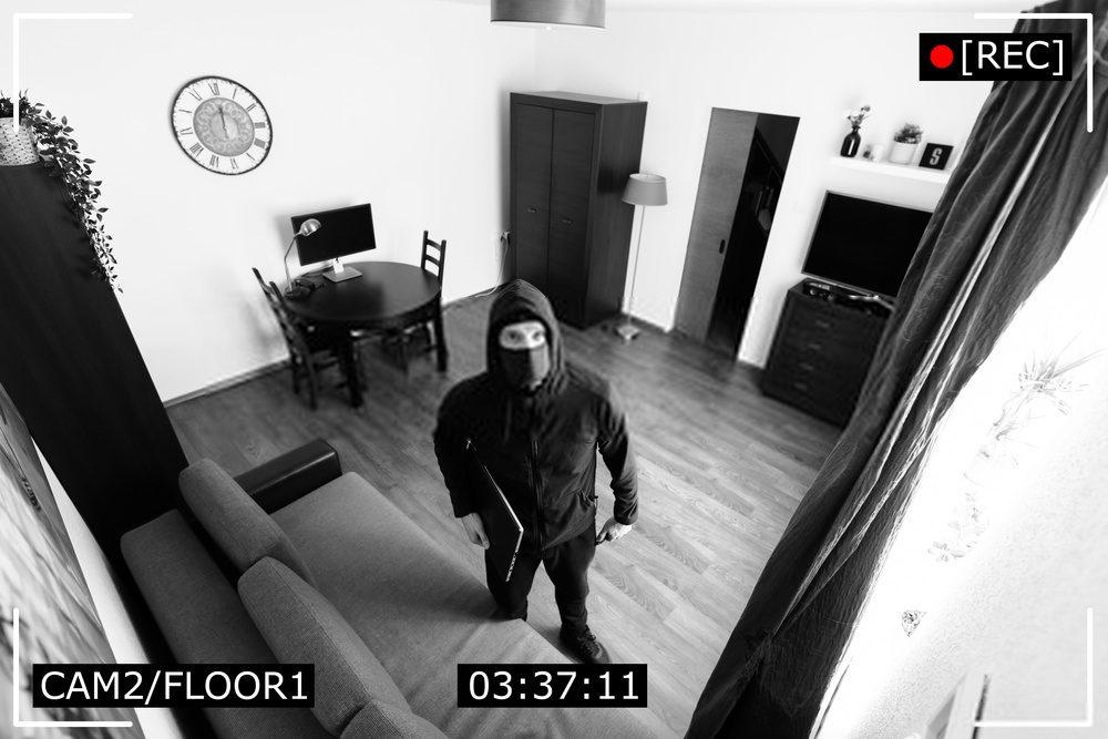 thieves noticing cameras